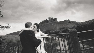 South Wales Wedding Photographer Carreg Cennen Castle